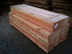 Douglas Fir Beams at EC Forest Products