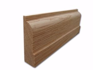 Lambs Tongue Architrave in Oak from EC Forest Products.