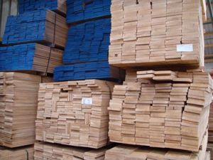 Kiln Dried Oak Strips in a variety of widths. Available for EC Forest Products.