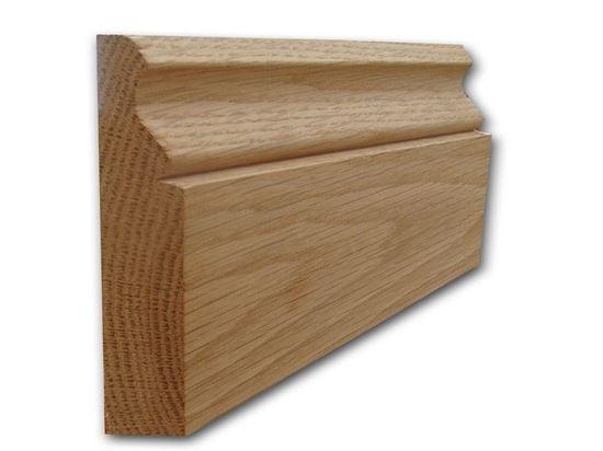 Ogee Architrave Profile in oak