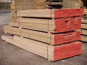 Kiln Dried Oak, Sawn to Size for your requirements in EC Forest Yard